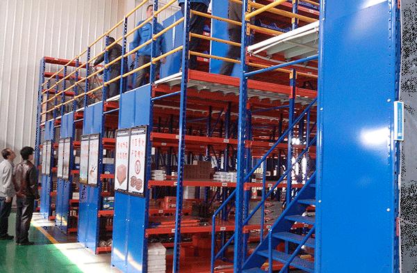 阁楼货架、钢平台